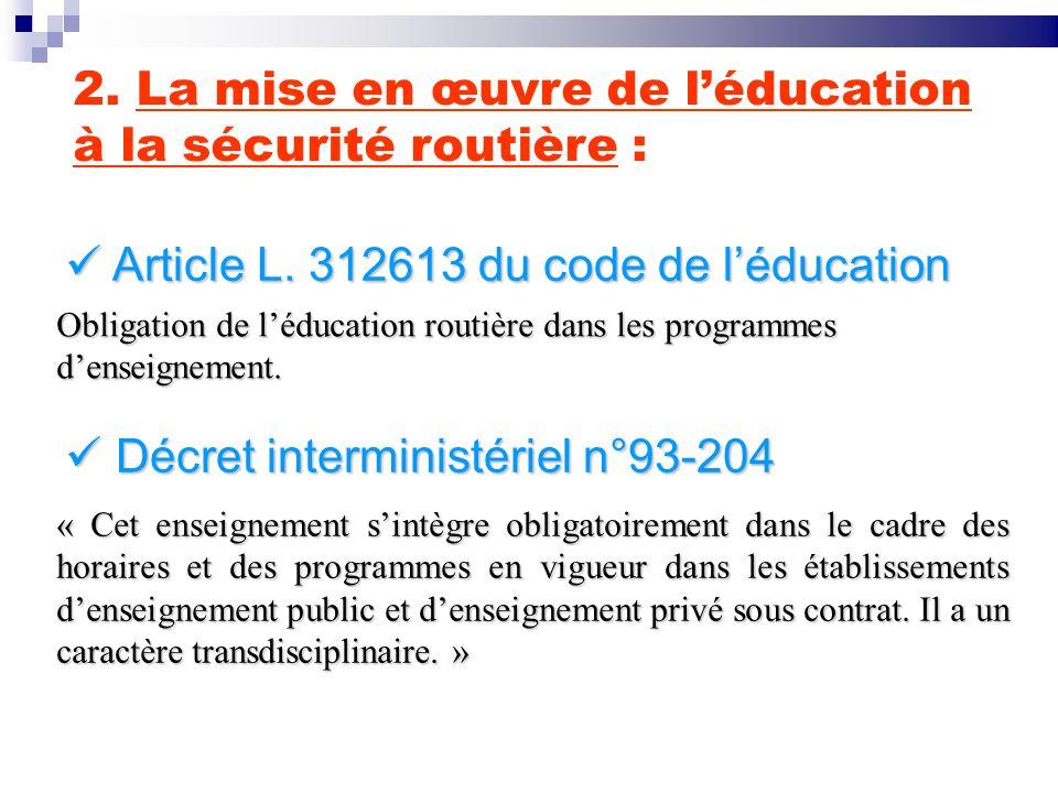 ASSR 1 Attestation de première éducation à la route APER Attestation de sécurité routière ASR UN CONTINUUM EDUCATIF ASSR 2 Collèges & L P GRETA École primaire 3.