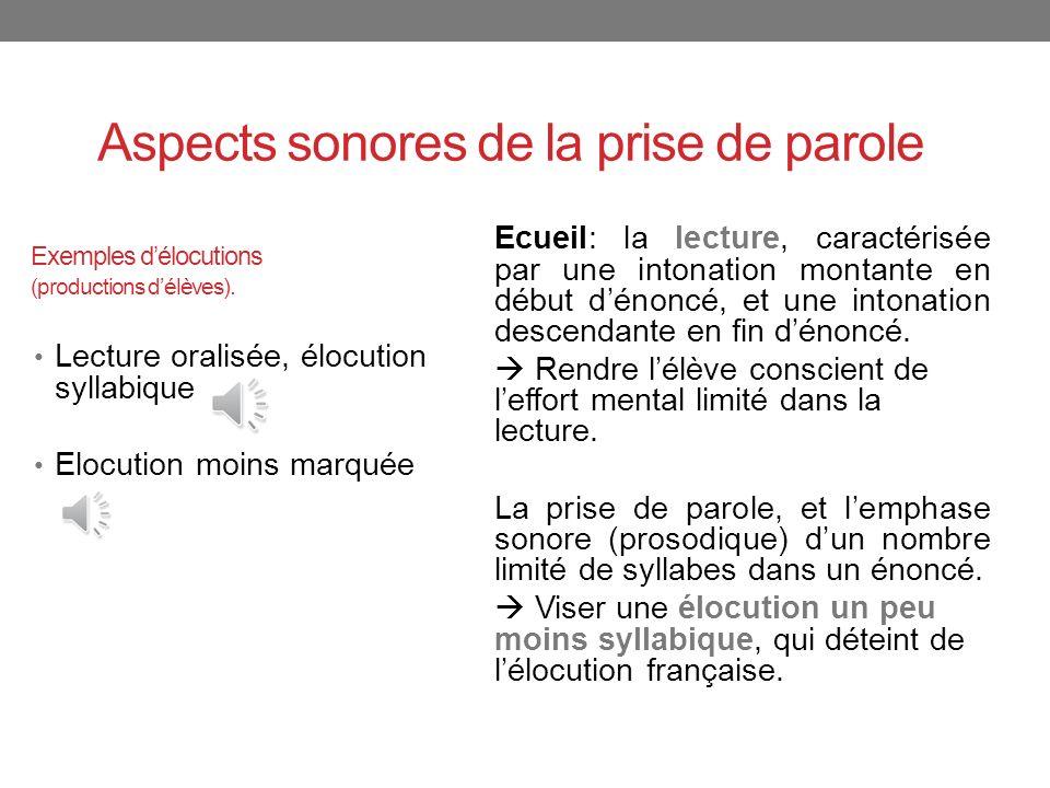 Exemples délocutions (productions délèves).
