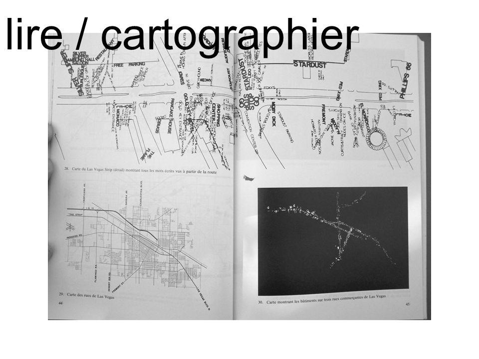 l e c t u r e s lire / cartographier