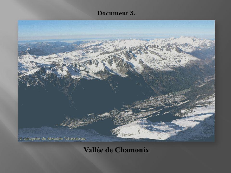Vallée de Chamonix Document 3.
