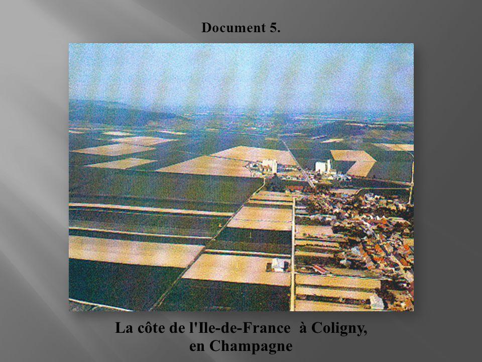 La côte de l'Ile-de-France à Coligny, en Champagne Document 5.