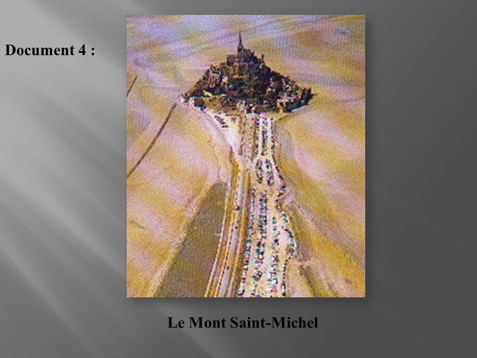 Le Mont Saint-Michel Document 4 :