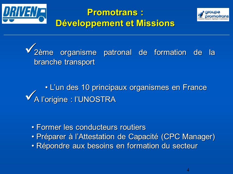 2ème organisme patronal de formation de la branche transport 2ème organisme patronal de formation de la branche transport A lorigine : lUNOSTRA A lori