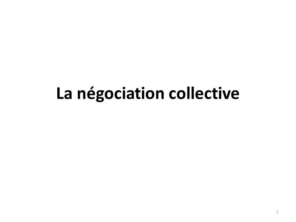 La négociation collective 1