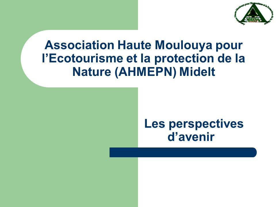Association Haute Moulouya pour lEcotourisme et la protection de la Nature (AHMEPN) Midelt Les perspectives davenir