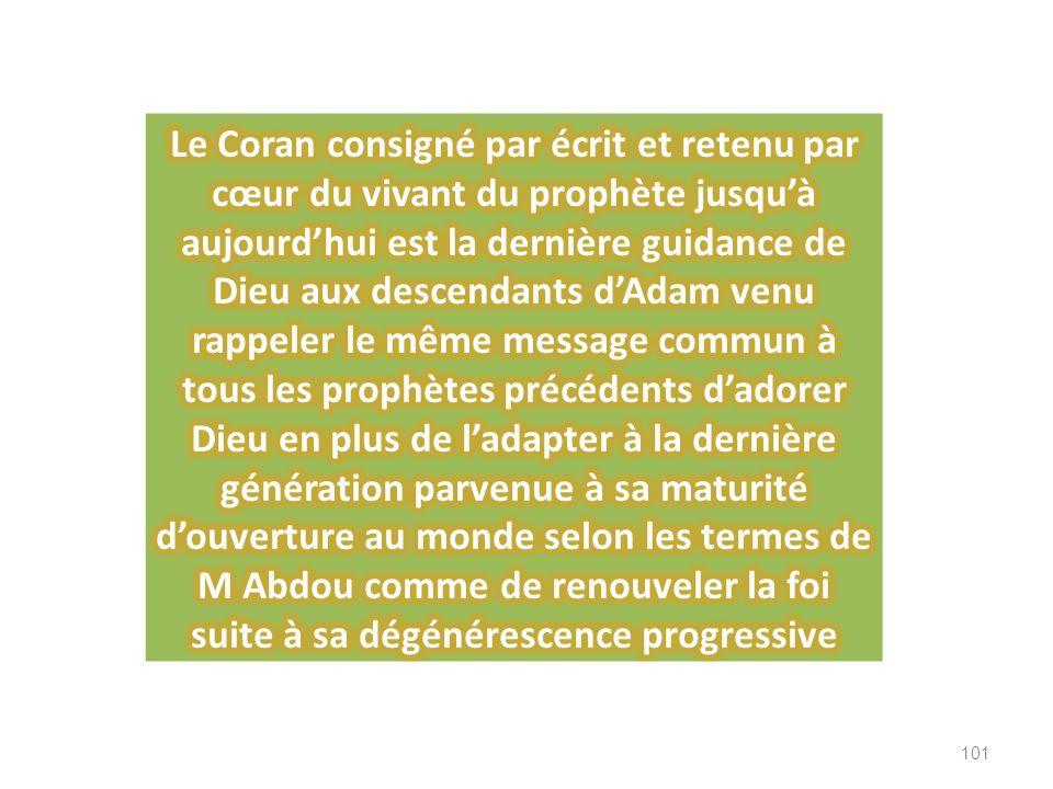En résumé, on ne dispose que de copies … des copies de copies … de versions différentes … des livres saints précédents le Coran, lesquelles copies son