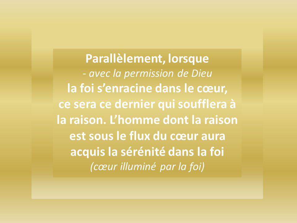 La plénitude de la connaissance de la vérité divine sobtient en effet par la jonction de 2 foyers de lumière ainsi que le comprends du verset 35 de la