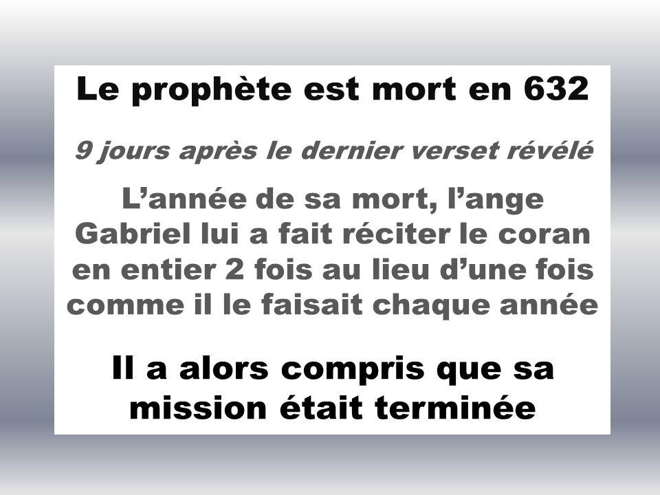 Al Harith ibn Hicham a interrogé le Messager de Dieu, rapporte Aicha : Ô Messager, comment te vient la révélation ? « des fois », avait répondu le pro