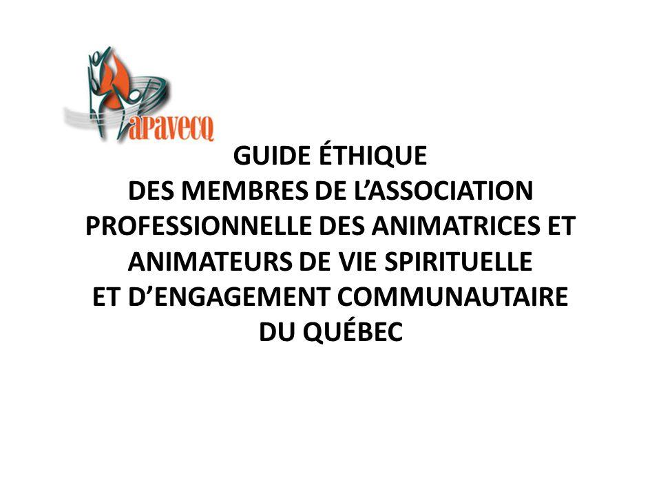 Présentation Un guide éthique peut se comparer avantageusement à une boussole utilisée pour guider les membres, notamment en cas de dilemmes moraux et de situations problématiques.