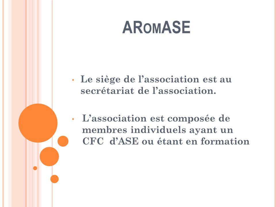 AR OM ASE Admission, démission, exclusion Ladmission de nouveaux membres relève de la compétence du comité qui en informe lAssemblée générale.