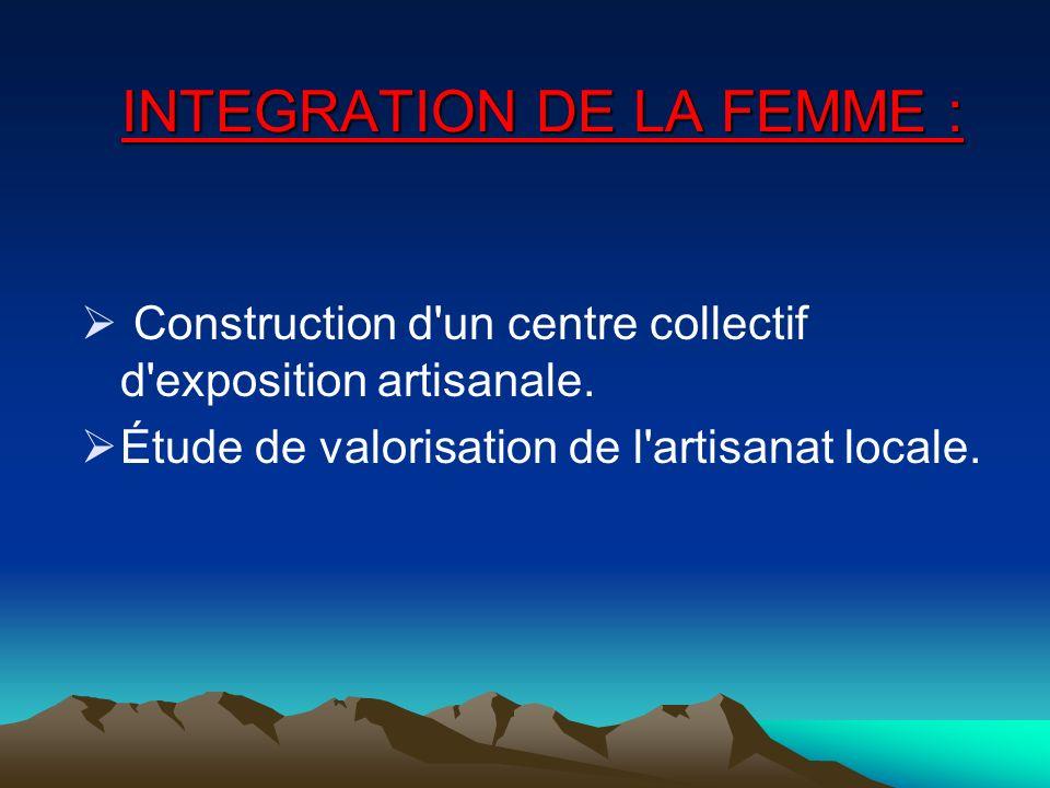 Projet IBOUKHNNANE Bornes Fontaines dAgoudal