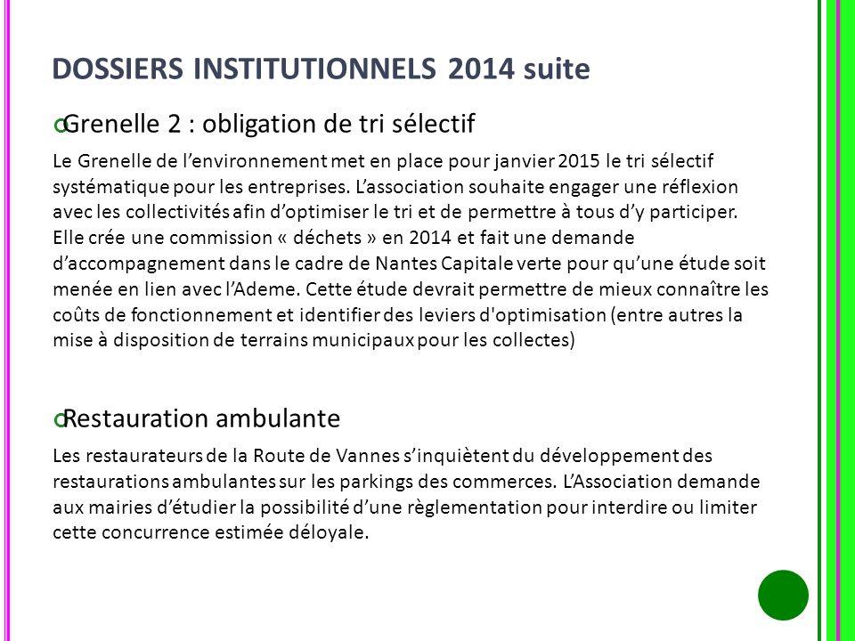 Grenelle 2 : obligation de tri sélectif Le Grenelle de lenvironnement met en place pour janvier 2015 le tri sélectif systématique pour les entreprises
