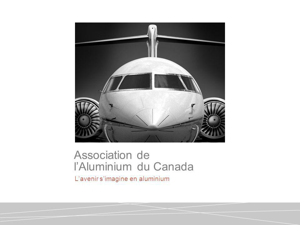 Lavenir simagine en aluminium Association de lAluminium du Canada