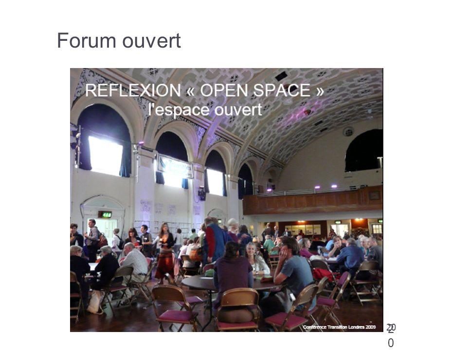 20 Forum ouvert 20