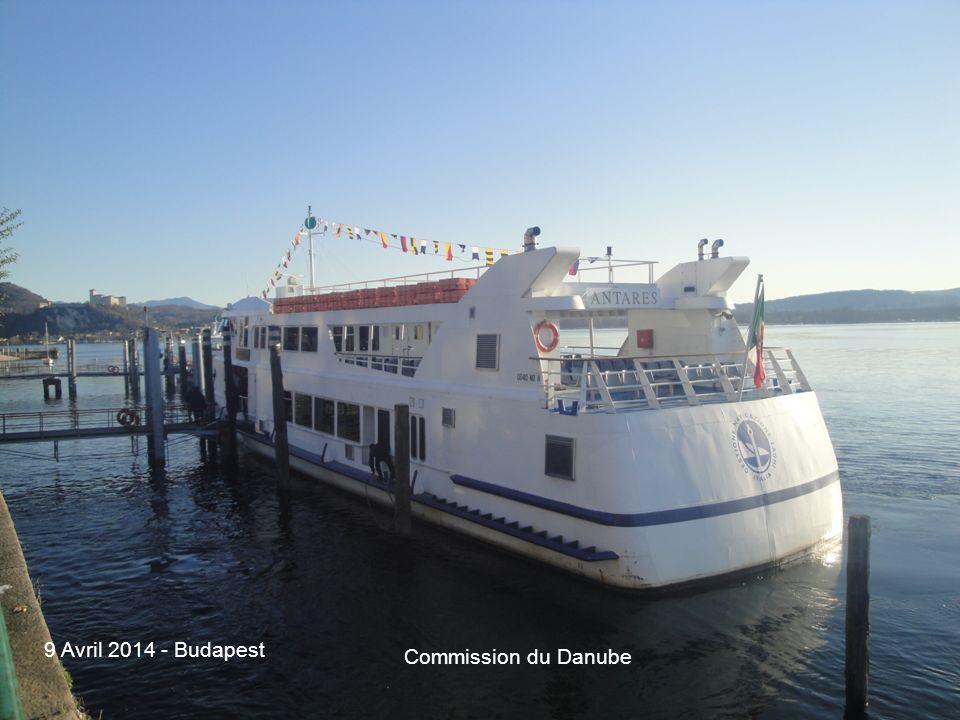 14 La flotta della navigazione interna italiana Commission du Danube 9 Avril 2014 - Budapest