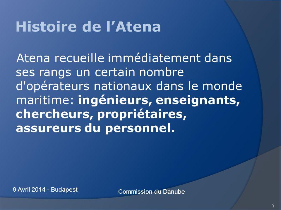 3 Histoire de lAtena Atena recueille immédiatement dans ses rangs un certain nombre d'opérateurs nationaux dans le monde maritime: ingénieurs, enseign
