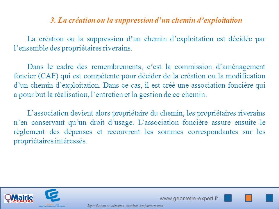 www.geometre-expert.fr Reproduction et utilisation interdites sauf autorisation 3.