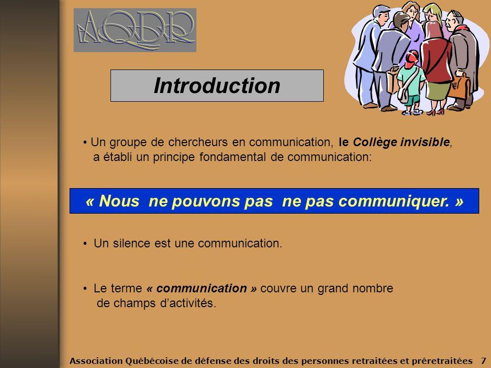 Plan de la présentation 4. Document : « Guide des Communications » 4.1 Le savoir-faire : quelques règles de base 4.2 Le comment faire : fiches 5. Conc