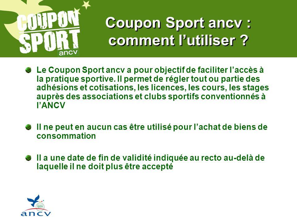 Coupon Sport ancv : comment lutiliser .