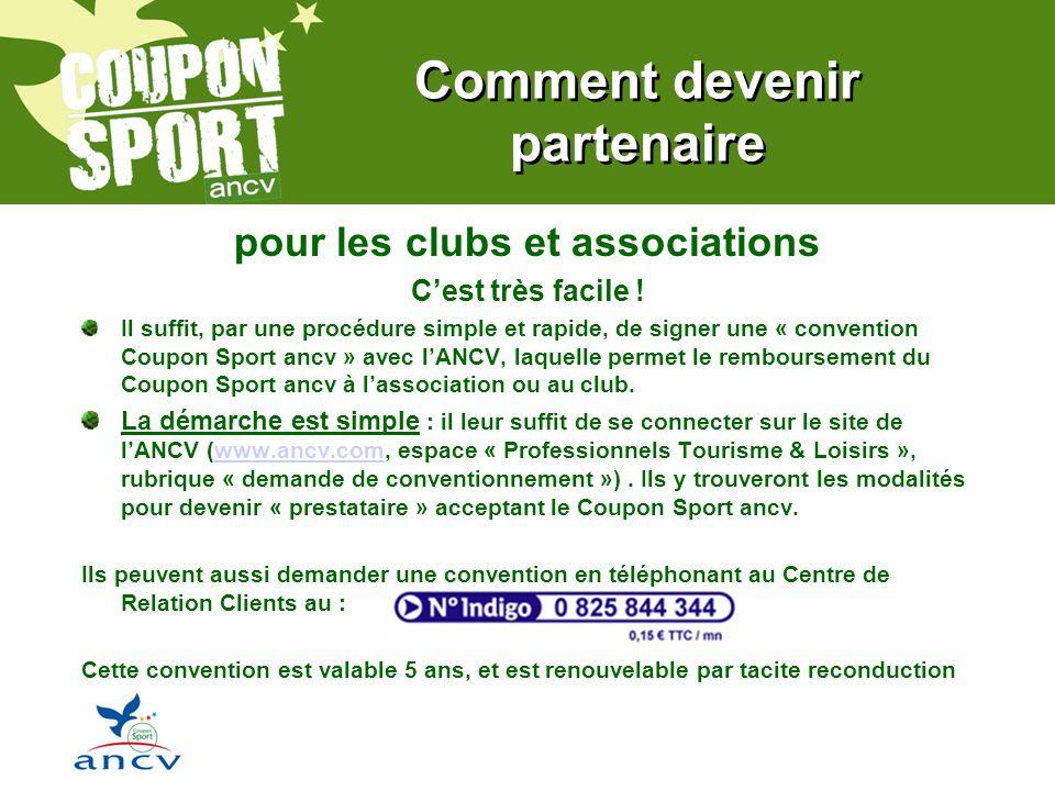 Comment devenir partenaire pour les clubs et associations Cest très facile .