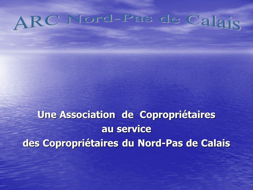Une Association de Copropriétaires au service des Copropriétaires du Nord-Pas de Calais