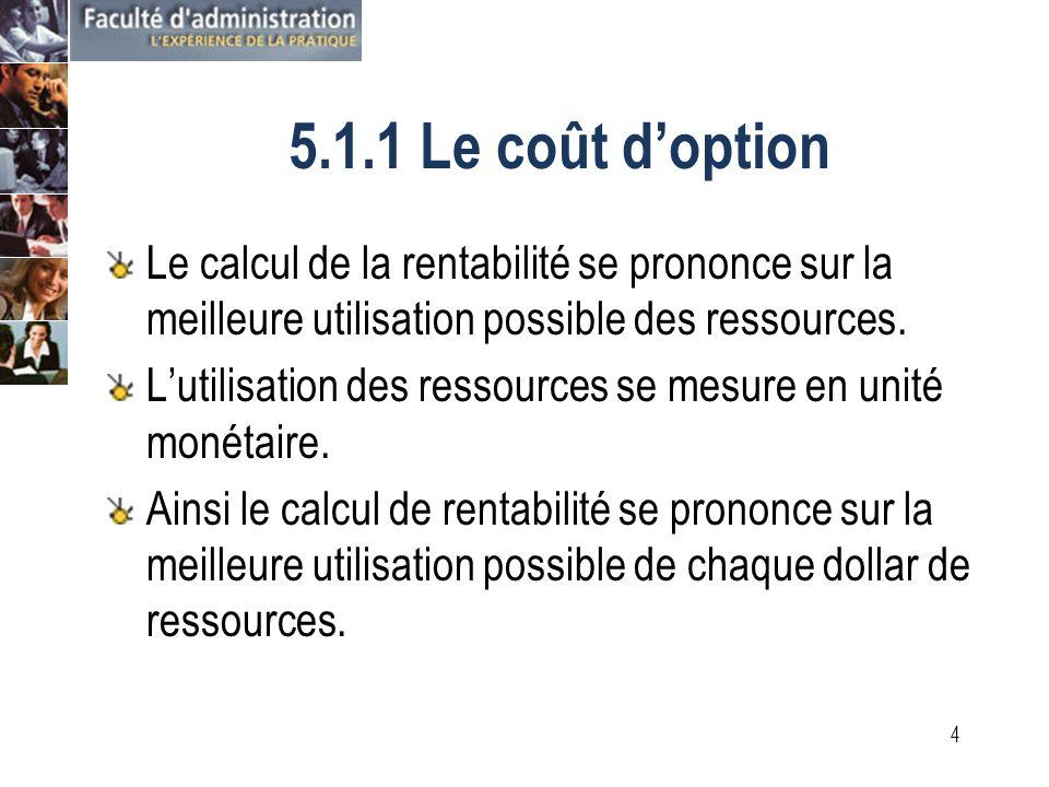 3 Rentabilité financière TraditionnelleAdaptée à la gestion de projet VAN Impôt Valeur résiduelle Taux dimposition Intérêts amortissement Enveloppe budgétaire Budget de caisse