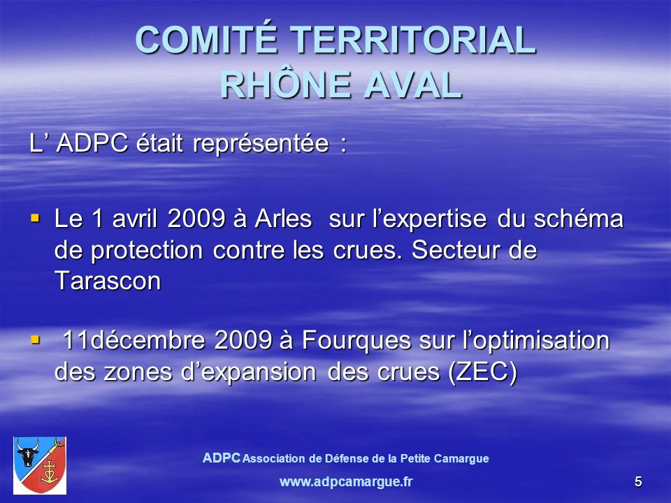 26. ADPC Association de Défense de la Petite Camargue www.adpcamargue.fr