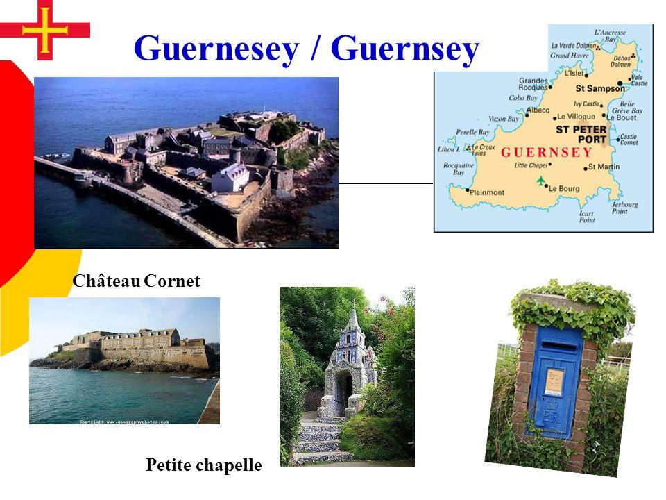Château Cornet Petite chapelle Guernesey / Guernsey