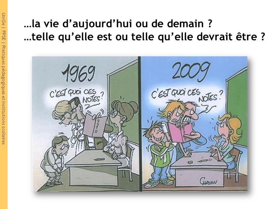 UniGe | FPSE | Pratiques pédagogiques et institutions scolaires Question subsidiaire… Le Courrier