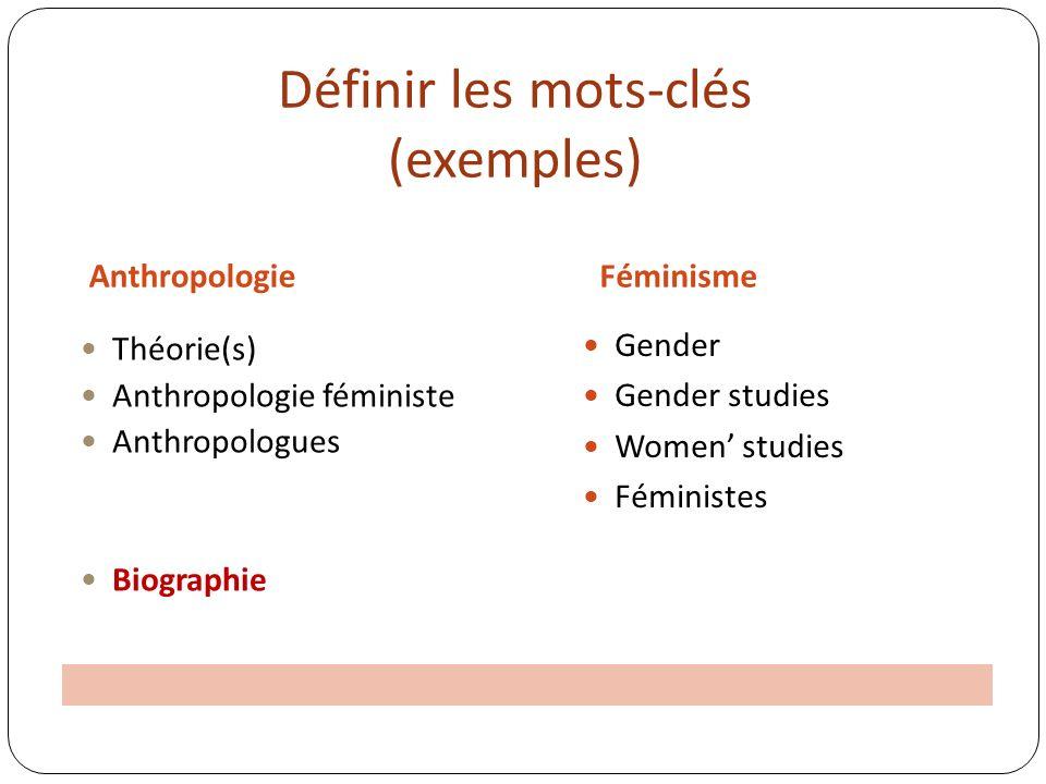 Logique booléenne – OU Féminisme Anthropologie