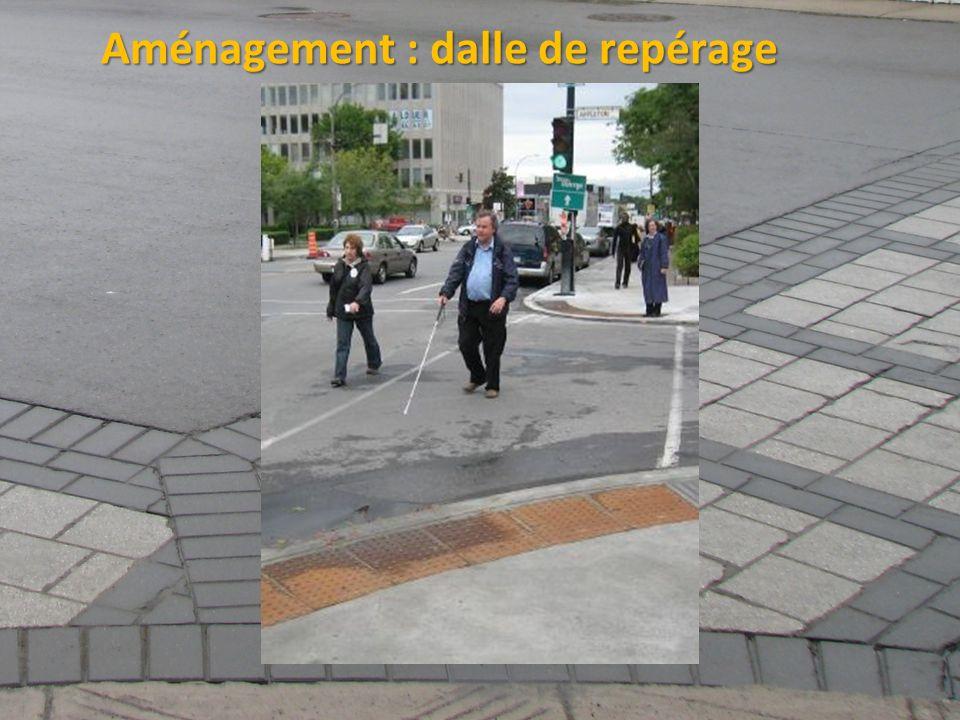 ©2011 Jean-François Bruneau, M. Sc. Aménagement : dalle de repérage
