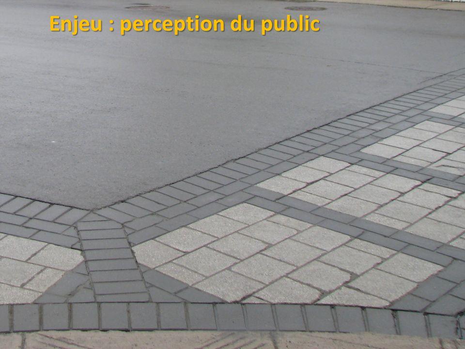 ©2011 Jean-François Bruneau, M. Sc. Enjeu : perception du public