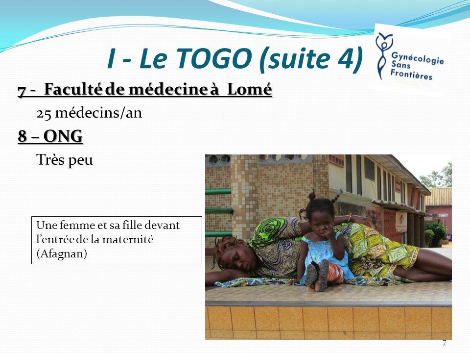 A – HÔPITAL DAFAGNAN (2) Protocoles à diffuser sur le circuit de soins – affichage Hygiène: lavage des mains, sol… Pré-éclampsie/éclampsie Sulfate de Mg – Surveillance Hémorragie de la délivrance Infection – Antibiothérapie Douleur Préparation à une césarienne 18