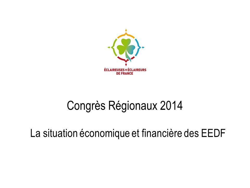 Congrès Régionaux 2014 La situation économique et financière des EEDF