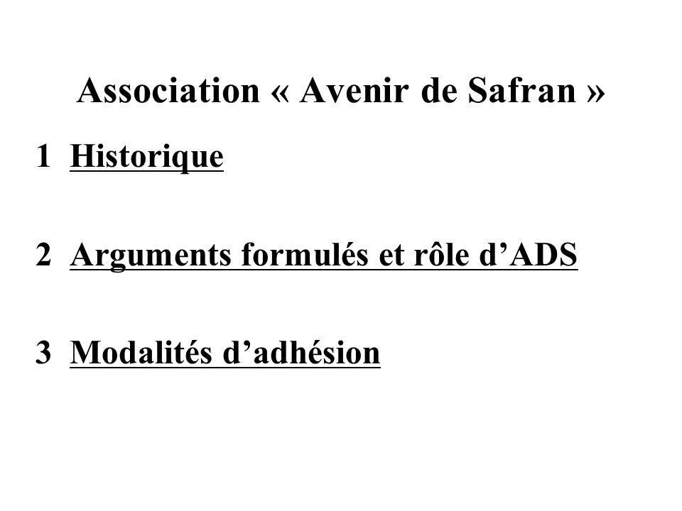 1 Historique 2 Arguments formulés et rôle dADS 3 Modalités dadhésion