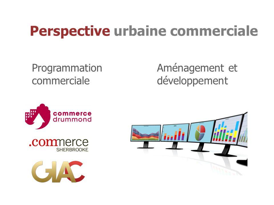 Programmation commerciale Aménagement et développement Perspective urbaine commerciale