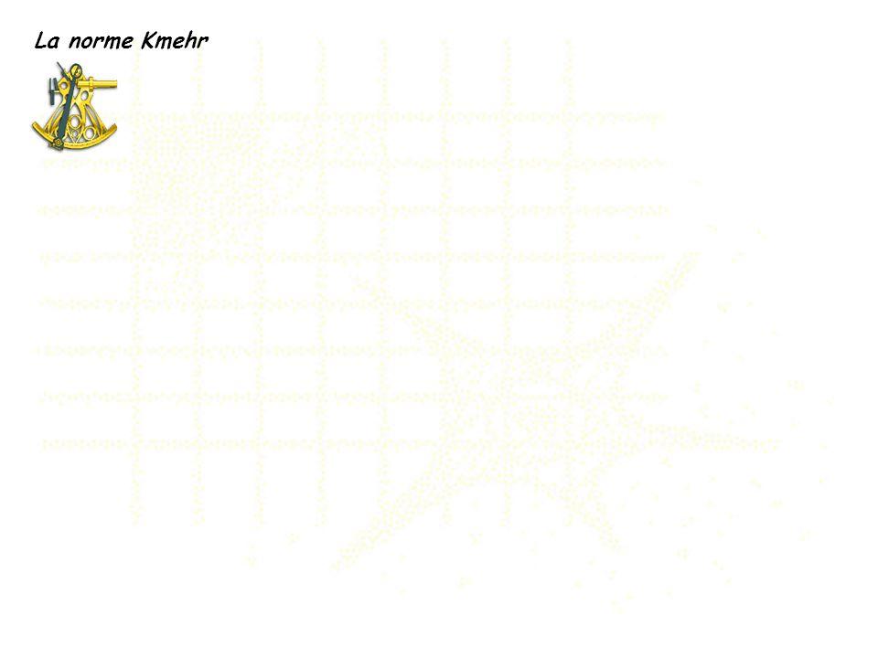 La norme Kmehr