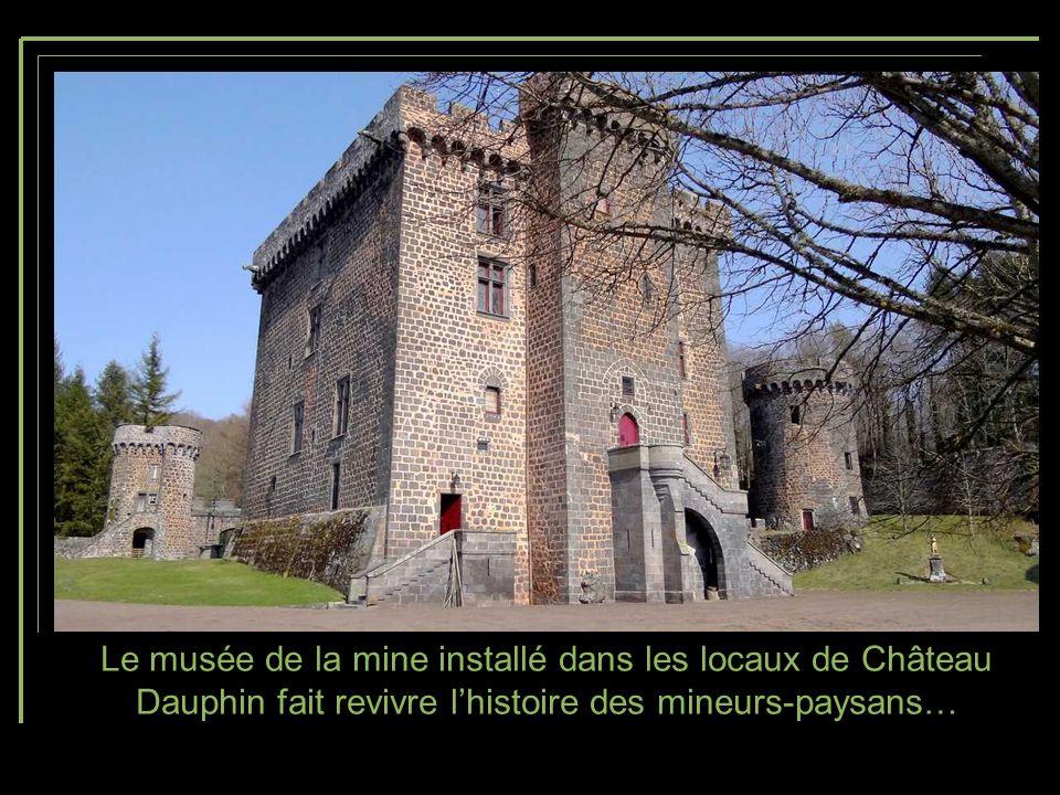 Jusquà une période récente, les visites guidées étaient possibles grâce à lassociation « La route des mines Dômes- Combrailles ».