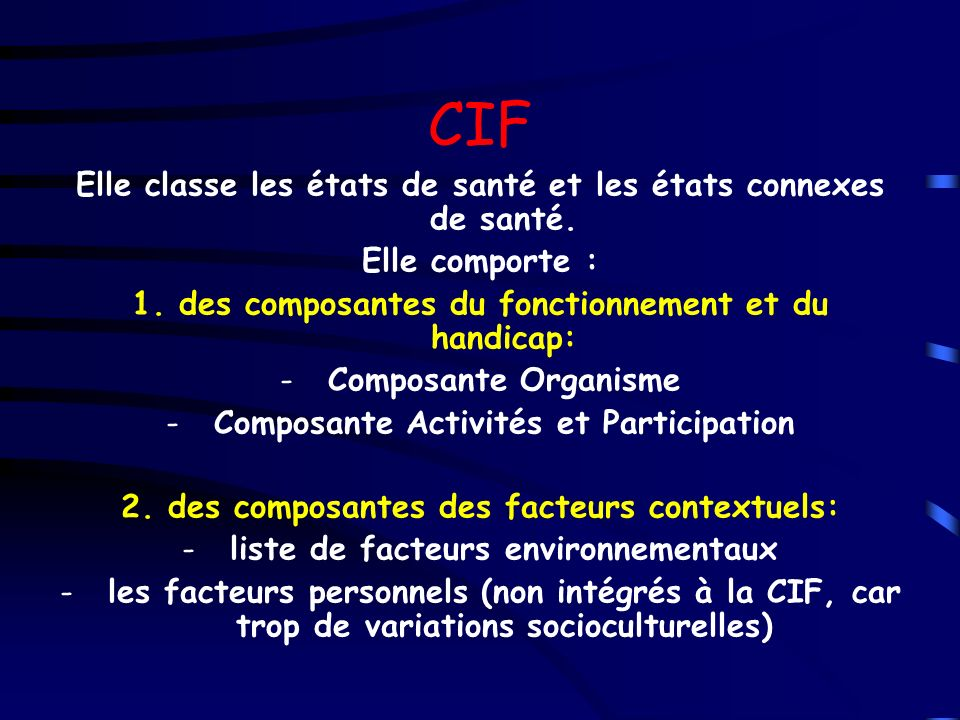 ASSOCIATIONS PARFOIS Déficiences variables: Syndromes polymalformatifs Déficiences motrices Troubles sensitifs Troubles sensoriels: vision, audition, équilibre Déficiences mentales Troubles du comportement Prédominance / Associations variables Polyhandicap / Surhandicap