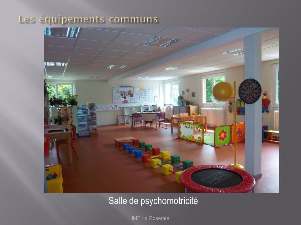 IME La Roseraie Salle de psychomotricité
