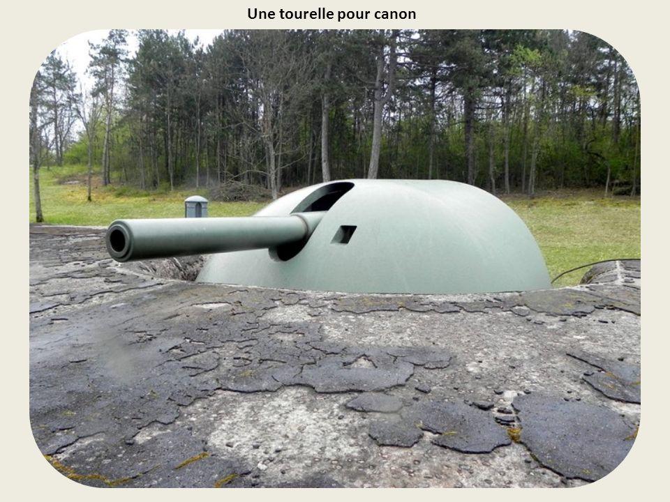 Batteries d'artillerie du fort de Mutzig face à la plaine.
