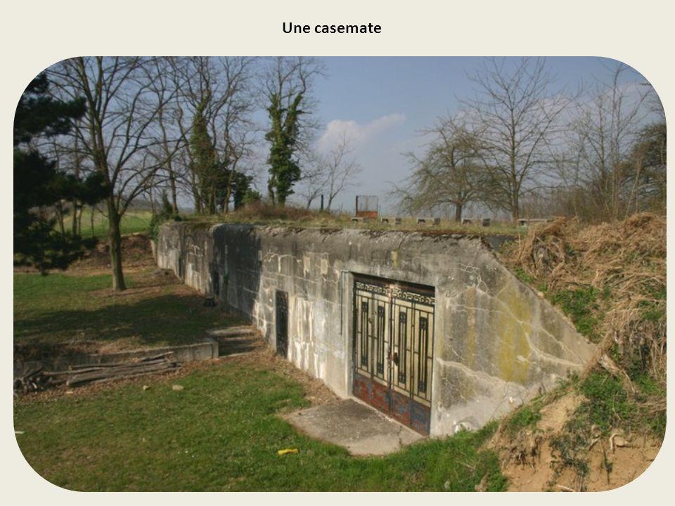 D'août 1914 à avril 1916, une solide position défensive a été aménagée sur la colline de Soulz- Les-Bains pour contrer toute offensive ennemie par la