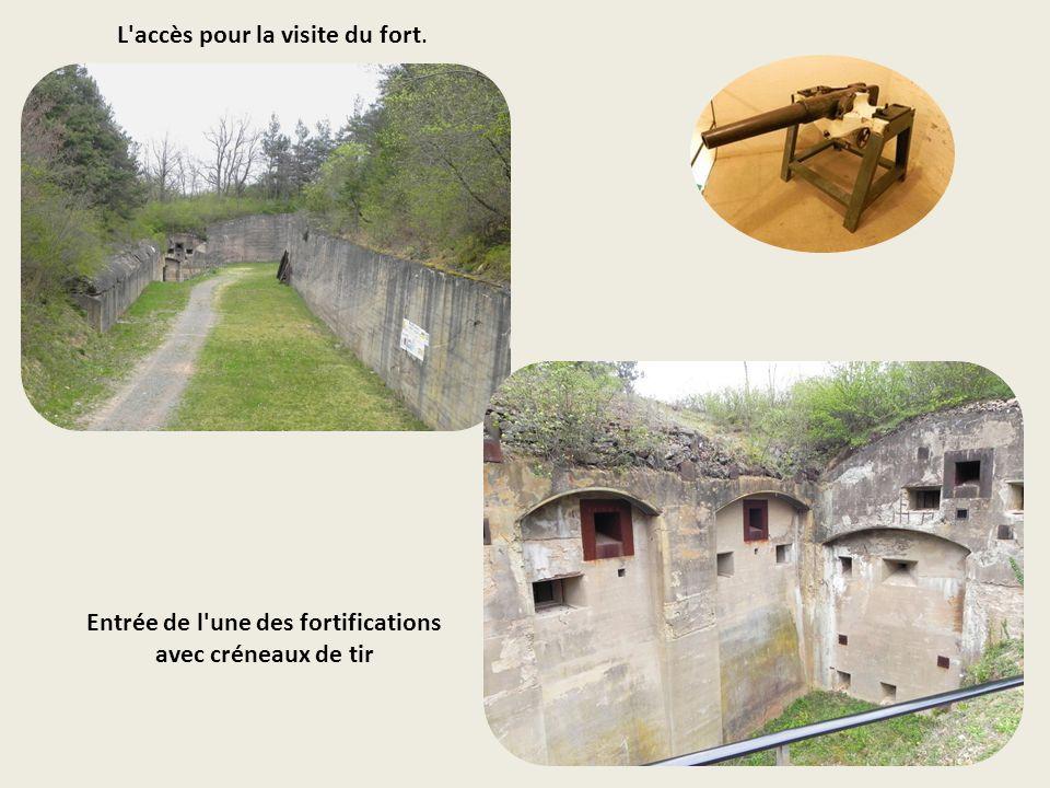 Un ensemble ultramoderne pour lépoque Le fort représente, à la veille de la première guerre mondiale, le plus puissant et le plus vaste ensemble défen