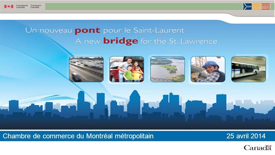 1 Chambre de commerce du Montréal métropolitain 25 avril 2014