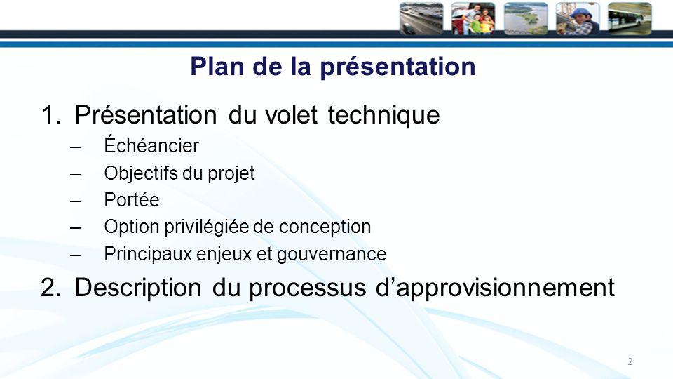 Qualité architecturale 13 La conception de référence sera élaborée par Dissing + Weitling, appuyé par le cabinet montréalais Provencher Roy + Associés –Leur rôle est détablir des directives claires sur des éléments comme la forme structurelle, léclairage, la vue vers le pont et à partir de celui-ci, etc.