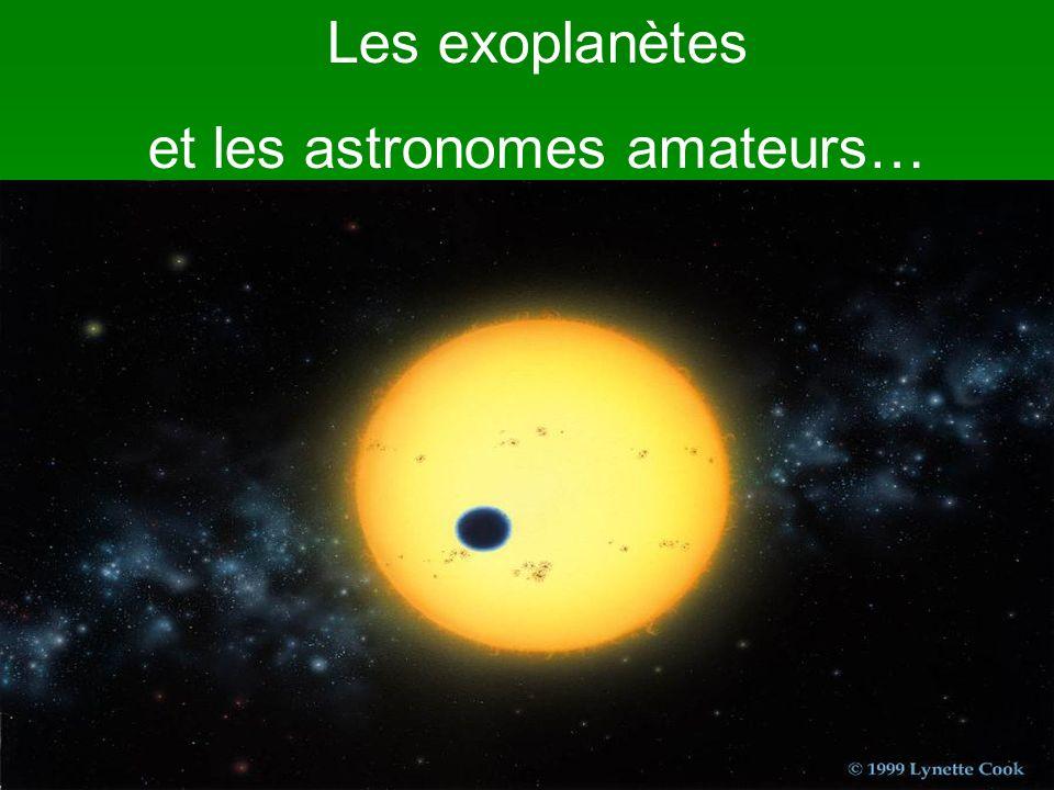 Détection de HD 209458-B par un astronome amateur Dans la nuit du 6 septembre 2005, entre 22h30 et 01h30, temps local, jai effectué la manipulation mentionnée sur létoile HD209458 pour être en mesure de détecter le transit de lexoplanète qui devait débuter vers les 23h05, temps local.