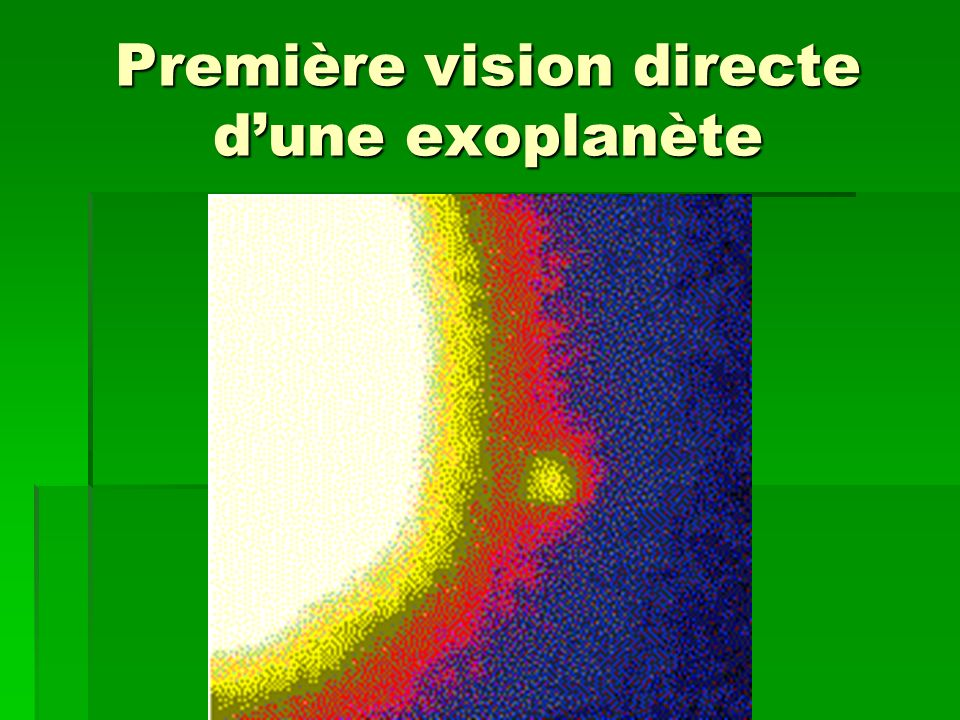 Les astronomes amateurs QUESTIONS: Avec ce que nous venons de voir, est-il possible pour un astronome amateur de détecter une exoplanète .