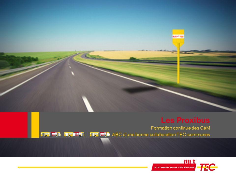Les Proxibus Formation continue des CeM ABC d une bonne collaboration TEC-communes