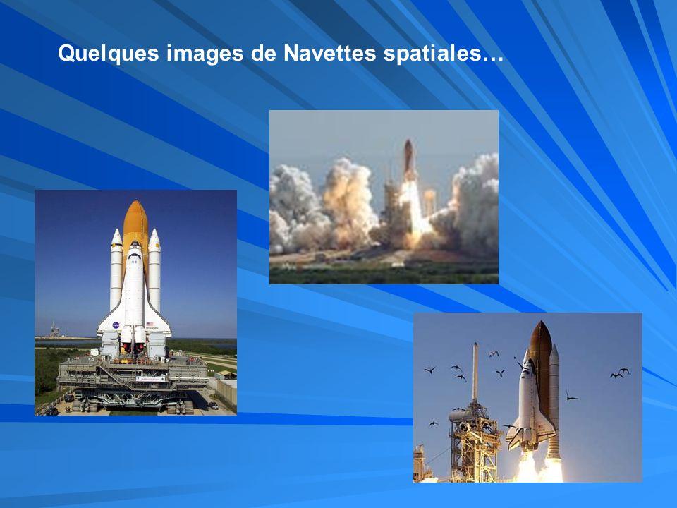 Quelques images de Navettes spatiales…