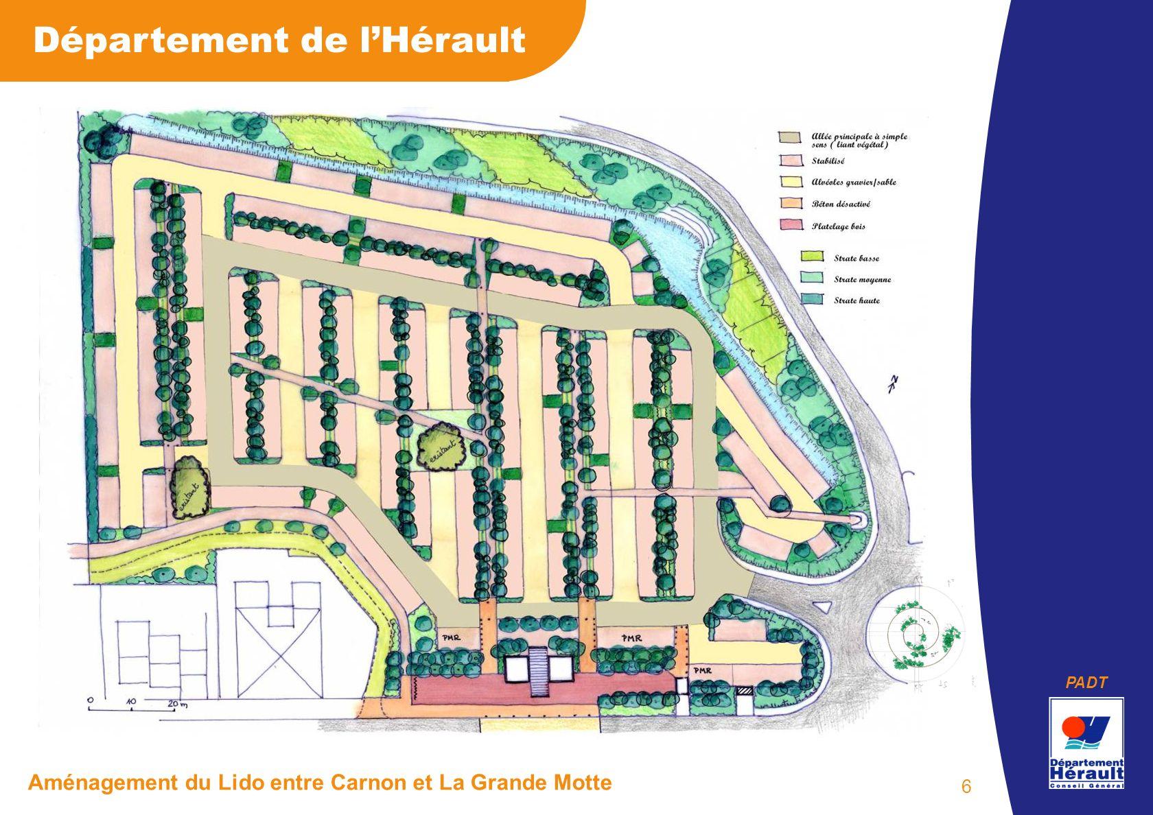 PADT Département de lHérault Aménagement du Lido entre Carnon et La Grande Motte 6